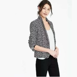 BANANA REPUBLIC Animal Print Blazer Jacket NWOT